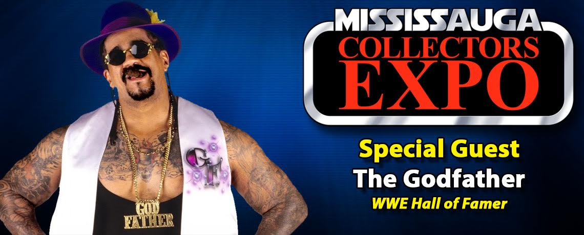 WWE Hall of Famer The Godfather to attend Mississauga Collectors Expo 2016
