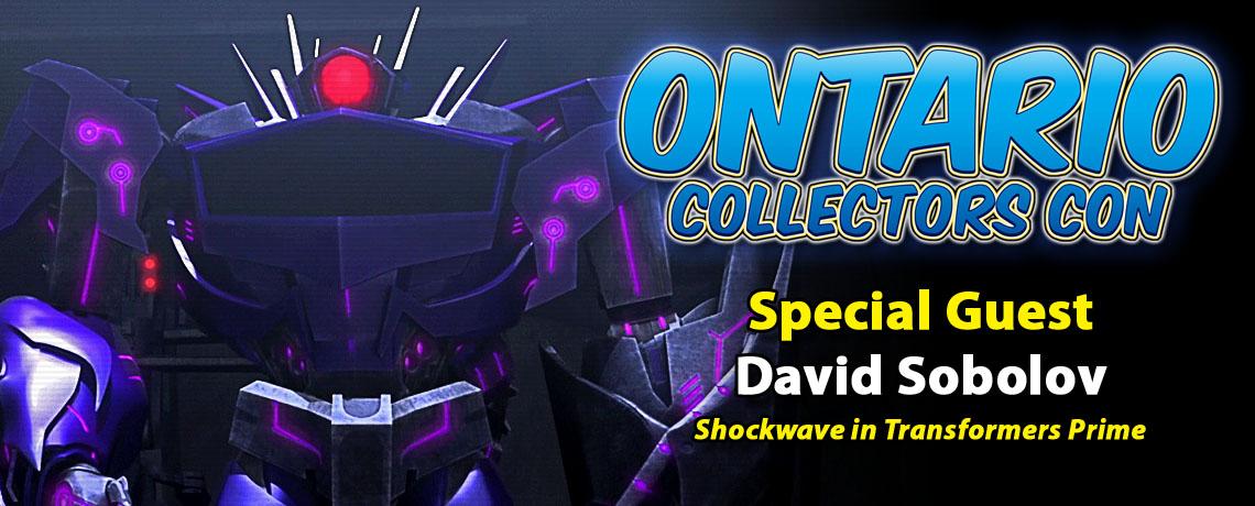Meet Voice Actor David Sobolov at Ontario Collectors Con 2017