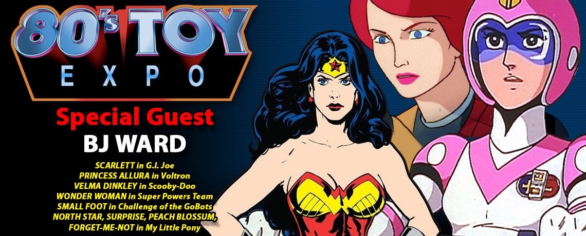 Actress B.J. Ward to attend 80s Toy Expo 2017