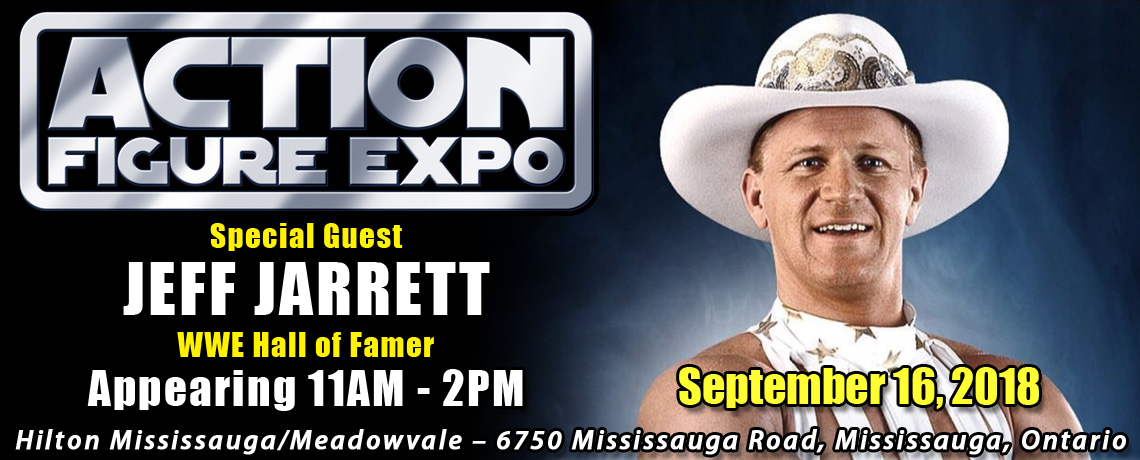 Meet WWE Hall of Famer Jeff Jarrett at Action Figure Expo 2018