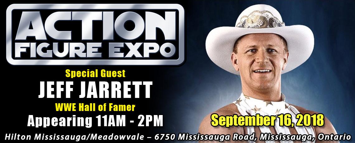 Meet WWE Hall of Famer Jeff Jarrett at Action Figure Expo 2018