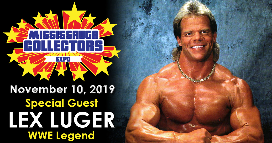 Meet WWF Superstar Lex Luger at Mississauga Collectors Expo 2019