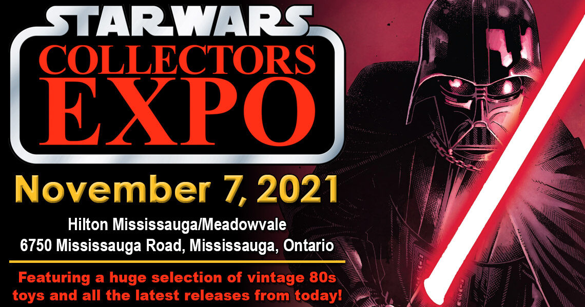 Star Wars Collectors Expo 2021 will be November 7th